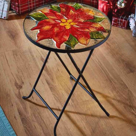 poinsettia-glass-table